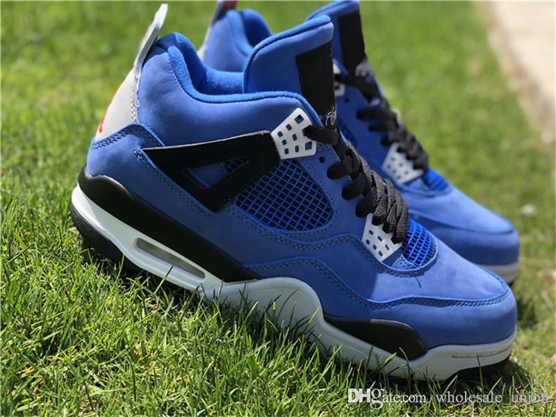Eminem X 4 Zapatillas De Baloncesto Encore Para Hombre Zapatillas  Auténticas De Ante Azul Con Caja Original 2018 Lanzamiento Conjunto De  Mejor Calidad ... 31eb662a5cef