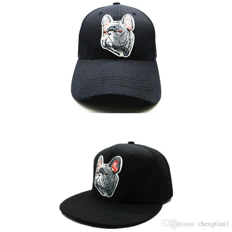 0a5c4fc4c75 LDSLYJR 2018 Bulldog Embroidery Cotton Baseball Cap Hip-hop Cap ...