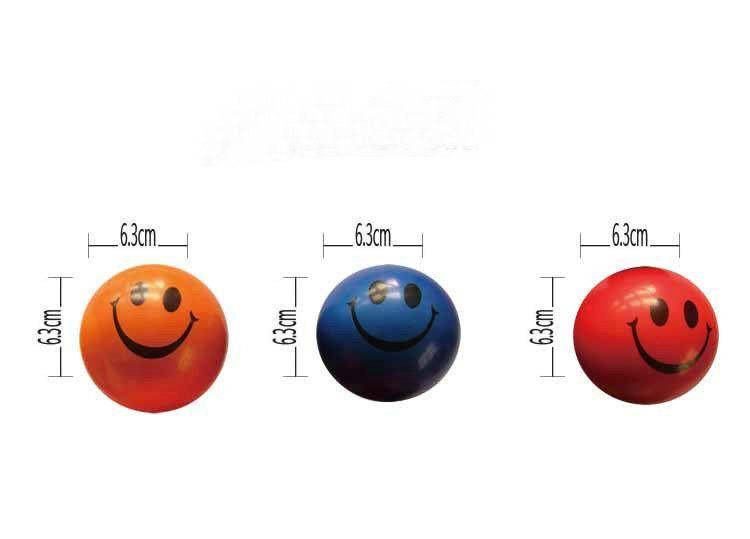 6.3cm QQ Emoji Smiling face ball Stress Squeeze Ball Wrist Finger Training Balls Soft Sponge PU Ball Children Kids Toys DHL