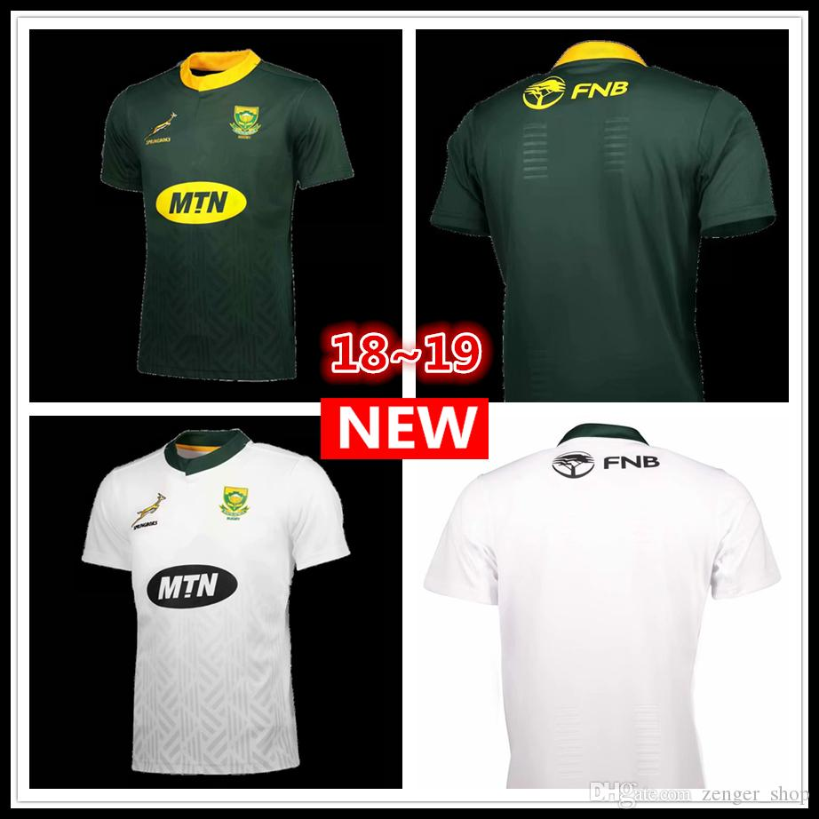 738fc66fdda 2018 2019 South Africa Home And Away Jersey Shirt 18 19 South ...