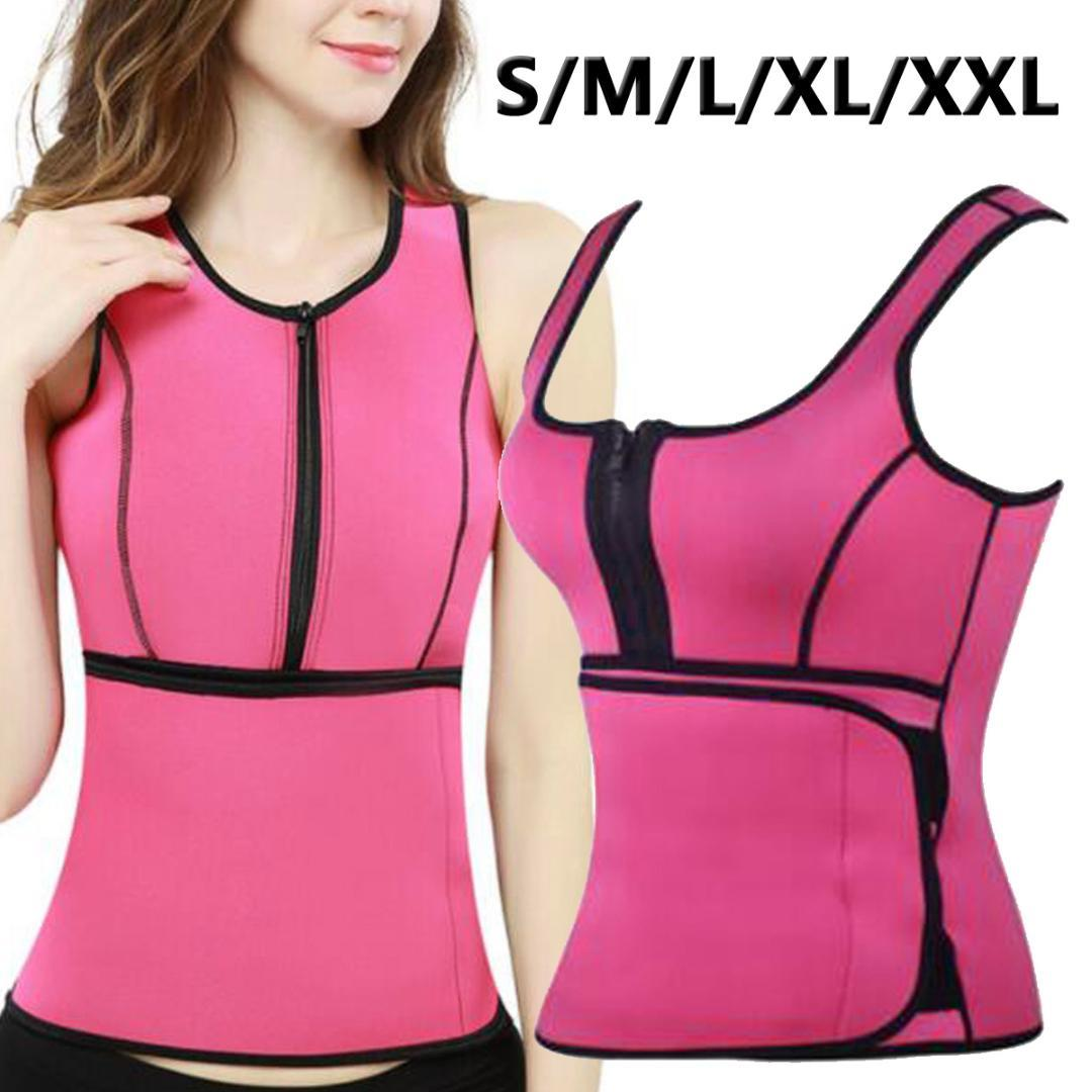 ab83056d680 2019 Neoprene Waist Trainer Corset Body Shaper Running Vest Fitness Waist  Support Workout Tummy Control Sauna Sweat Vest From Cloudyday
