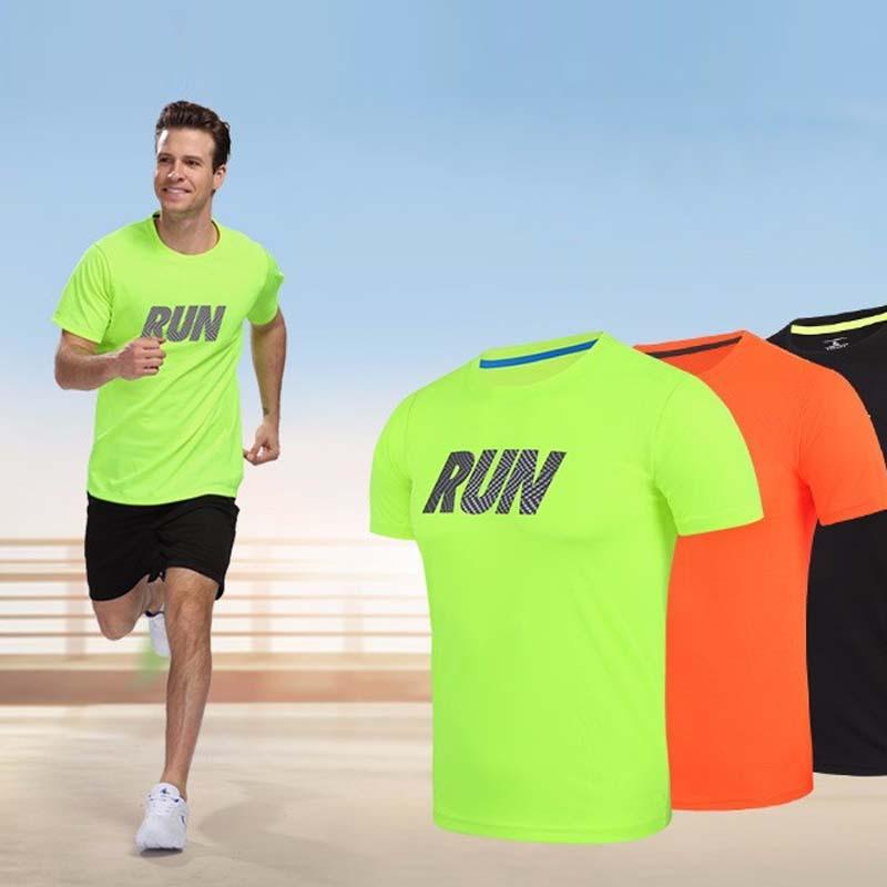 Brand Design Professional Men S Sport Running Shirt Quick Dry Short Sleeve  Basketball Soccer Training T Shirt Women Gym Clothing UK 2019 From Pekoe 965d4006d