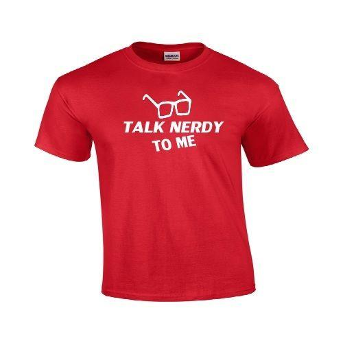 84ee8cb29 Talk Nerdy To Me Funny T Shirt Cute Holiday Gift Geek Nerd Hipster ...