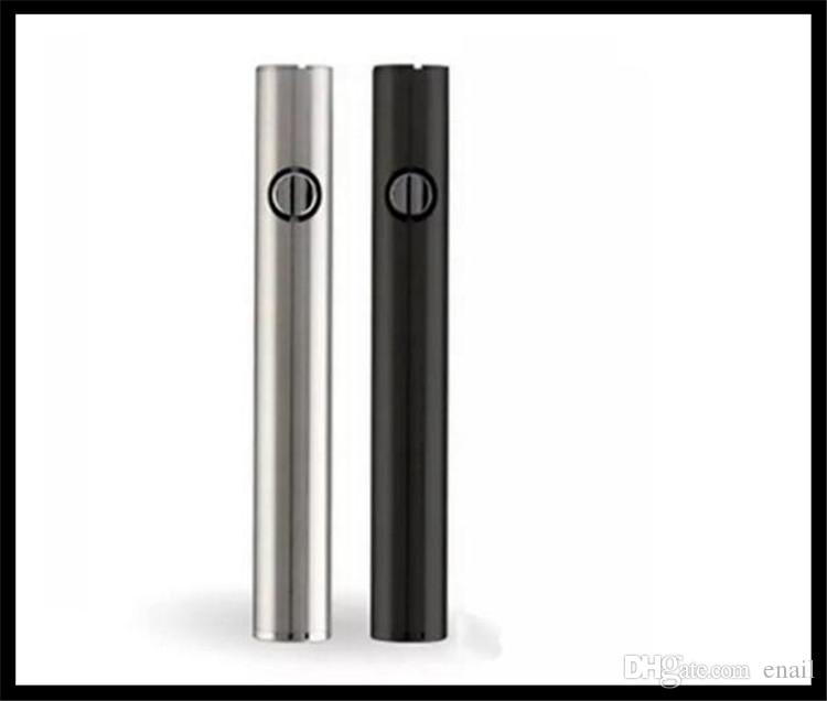 batteria usb di preriscaldamento del fondo 510 batteria 400 mAh caricabatterie penna vape di alta qualità caricatore USB 400 mah batteria vape di vape MAX E CIG all'ingrosso