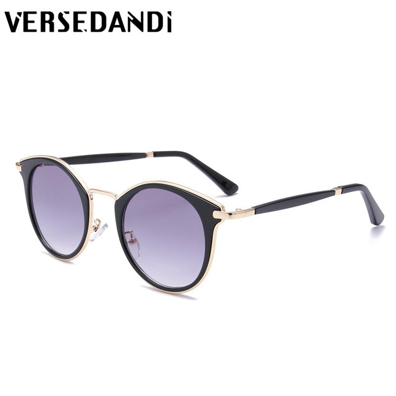 28bea9baab Vintage Clear Frame Cat Eye Sunglasses Women Fashion High Quality ...