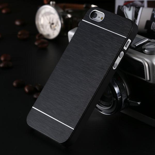 Hard PC Cases For iPhone 5 5S SE 4S Back Cover Ultra Thin Metal Phone Shell For iPhone 6 6S 7 8 Plus Case Accessories