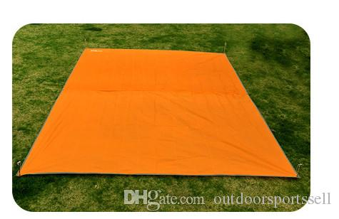 Outdoor campsite cloth moistureproof tarpaulin tent picnic mat awning canopy canopy large rain cover.Manufacturers wholesale