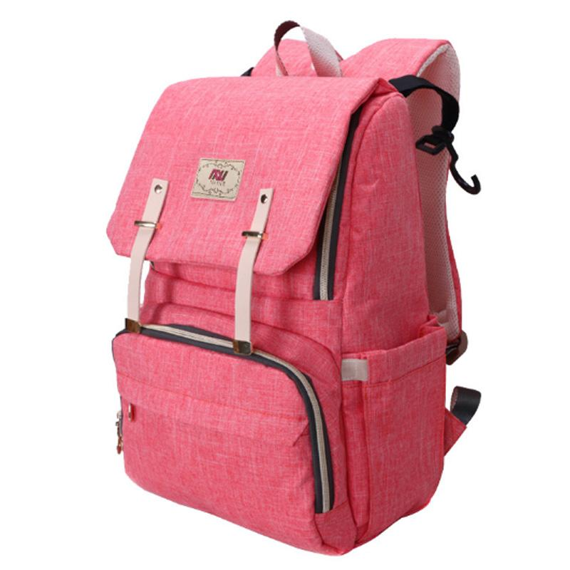 d2540bdb6e6f 2018 Multi Function Large Maternity Backpack Baby Bag Fashion Portable Nappy  Bag Travel Mummy Diaper Designer Stroller From Fkansis