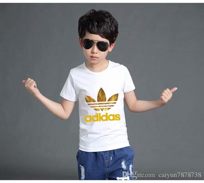New Boys Grils T-shirt Children T Shirts Kids Cotton Boy Clothes Tshirt Brand Children's Clothing Summer