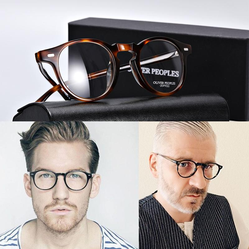 8453e44e548 2019 Oliver Peoples OV5186 Vintage Optical Glasses Frame Eyeglasses Gregory  Peck Reading Glasses Women And Men Eyewear Frames From Exyingtao