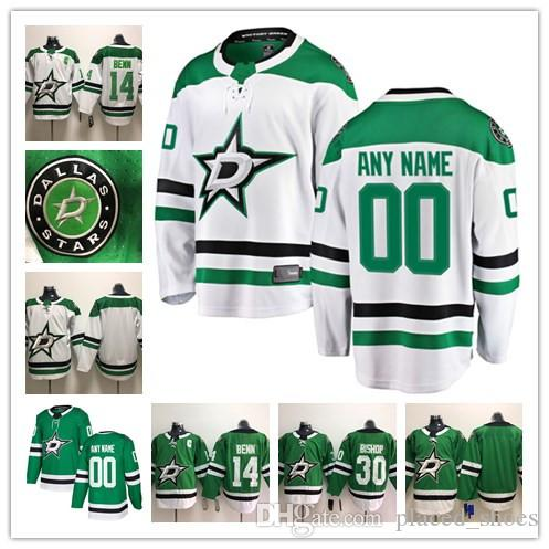 6e9e15220 2019 Custom Dallas Stars ANY NAME  NO JERSEYS Men Women Kids 14 Jamie Benn  30 Ben Bishop Authentic Hockey Jerseys Stitched Personalize From  Placed shoes