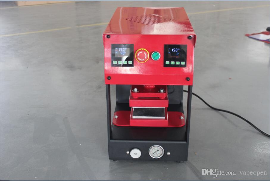 No need Air Compressor Dual Heating Plates Rosin Press Machine Reach to 20 Ton Pressure PURE ELECTRIC with LCD Touch Screen Panal