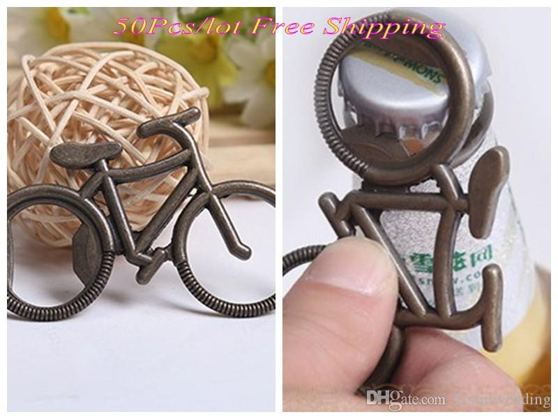 Unique Wedding Giveaway Gift Of Antique Bicycle Bottle Opener Party