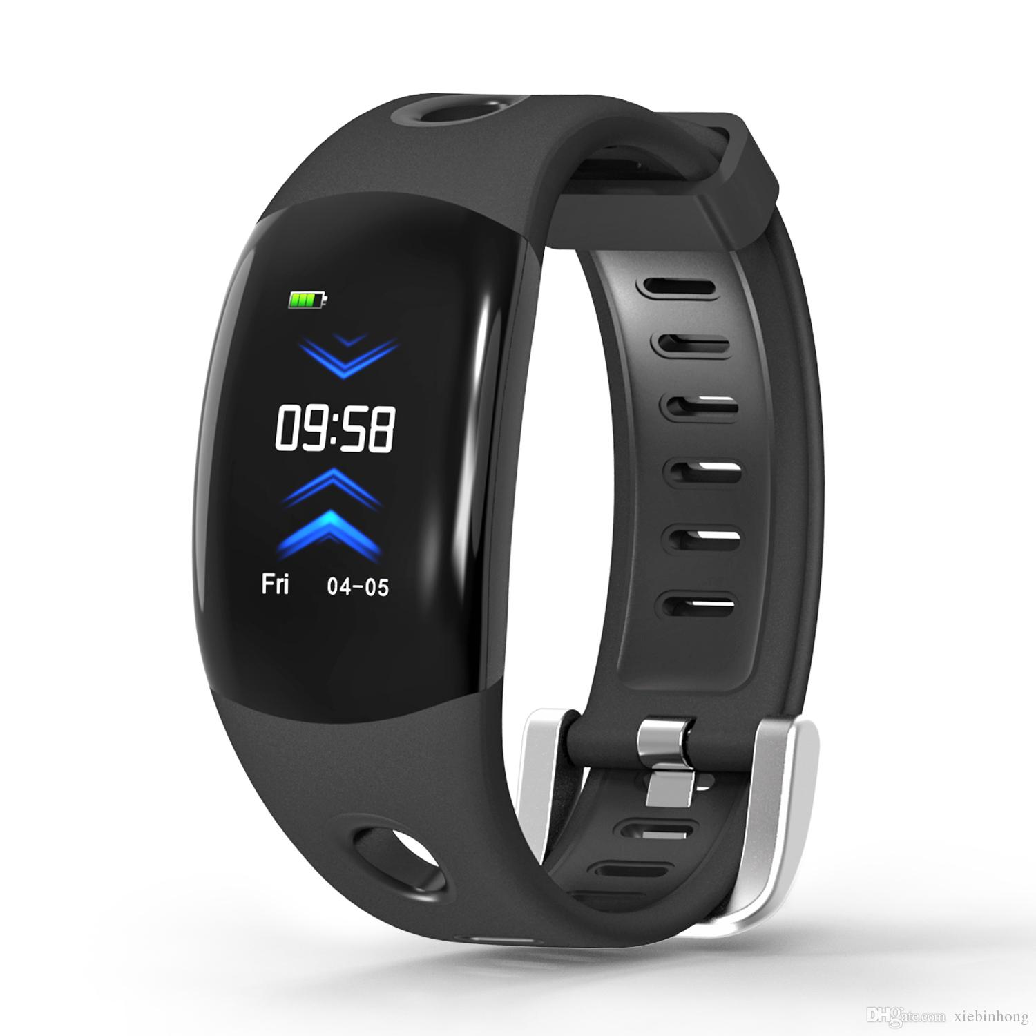 single-piece smart watch heart rate Smart band DM11 3D Dynamic UI Fitness tracker Bracelet Heart rate Monitor Wristband IP68 Waterproof