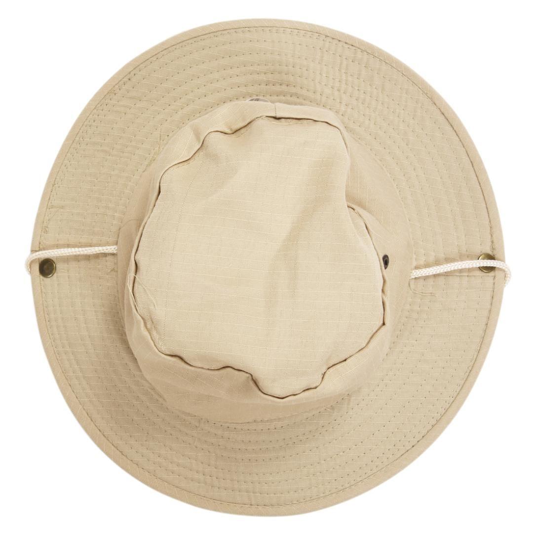 18833cee73f Outdoor Men Women Unisex Hat For Fishing Trekking Camping Hiking Sport Sun  Cap Round Rim Hat Beige Black Floppy Hat Flat Bill Hats From Yongq