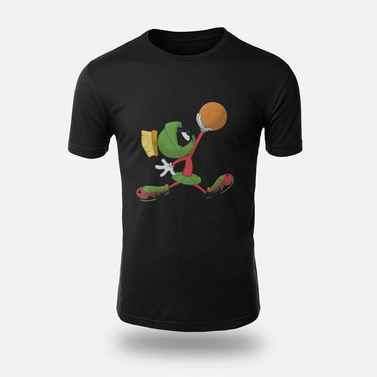2d44135cf981 Marvin The Martian Jumpman Tees Men S Black S 3XL T Shirt That T Shirt But  T Shirts From Beidhgate01