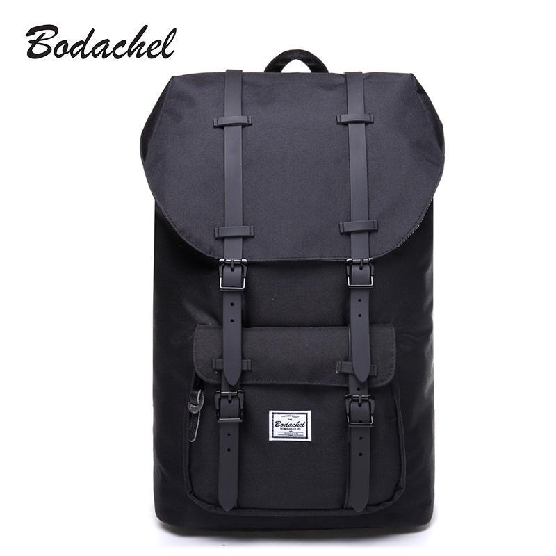 Bodachel Travel Oxford Backpack For Men School Bag Laptop Notebook Backpack  Male Drawstring Knapsack Tourist Sac A Dos Homme Justice Backpacks Camping  ... b2e7128316642