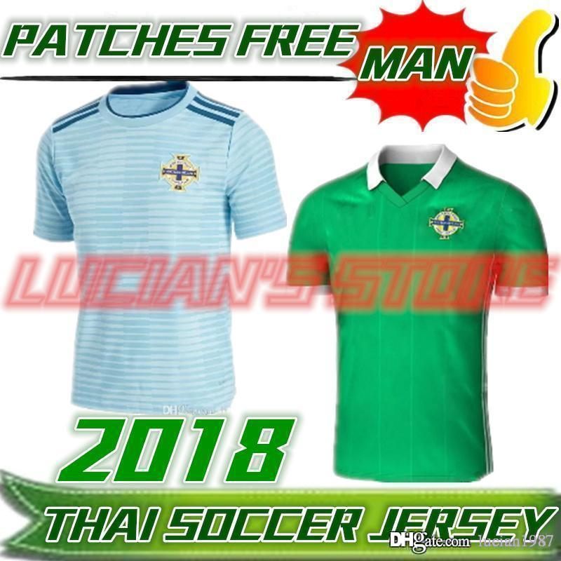 ... Top Thailand Northern Ireland Soccer Jerseys 2018 World Cup Home 645505ee6
