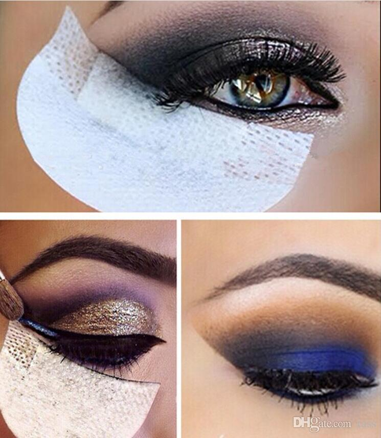 Sombra de Ojos desechable Almohadillas de Belleza Herramientas de Maquillaje Gel de Ojos Protector de Cojín Protector Etiqueta Extensiones de Pestañas Parche 2000 unids = 1000 pares