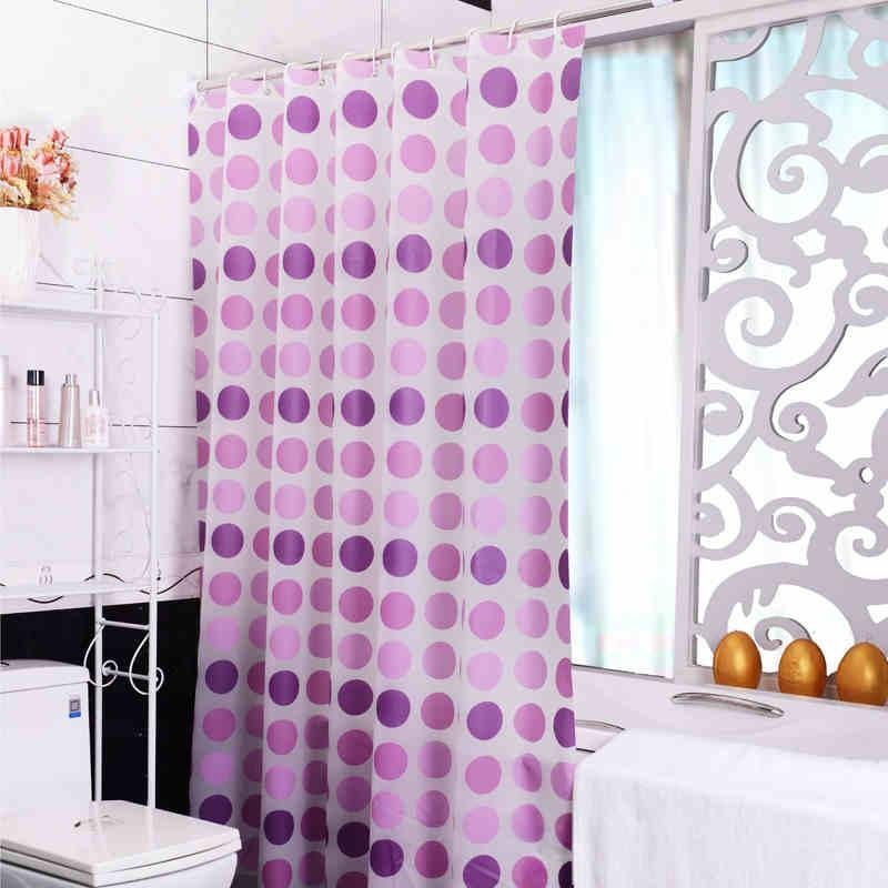 2019 Purple Shower Curtain Waterproof Mildew Bathroom With Thick Pull The Blinds Cut Off From Caley 2477
