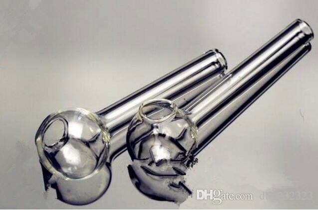 Accessoires narguilés. [Diriger] pot d'huile bangs en verre gros brûleur en verre pipe à eau Rigs huile fumer, huile.