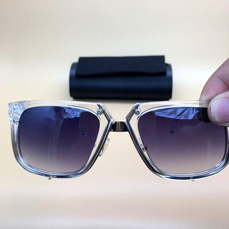 f15c9ec26ae3 Vintage Eyewear Square Sunglasses Clear Frame Gradient Lenses 2018 New Mens  Womens Acetate Eyeglasses With Box 643 Sunglasses Acetate Sunglasses Square  ...