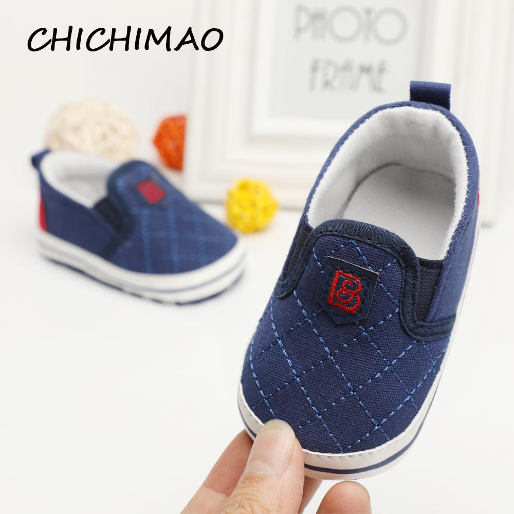1836dad55 2019 Fashion Newborn Unisex Shallow Soft Sole Babies Shoes Cotton Solid  Toddler Moccasins Infant Crib Outdoor Boys Girls First Walker Wholesale  From ...