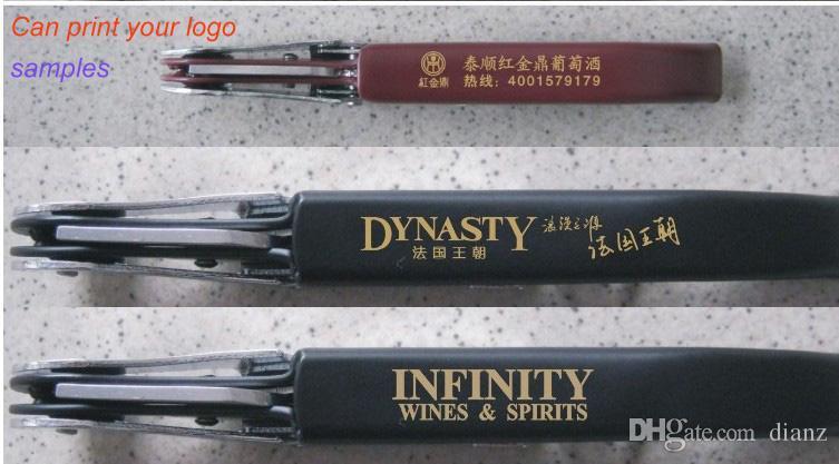 Promotion Can print your logo Metal sea horse Cork Screw Corkscrew Multi-Function Pocket Bar tool Red Wine bottle Opener