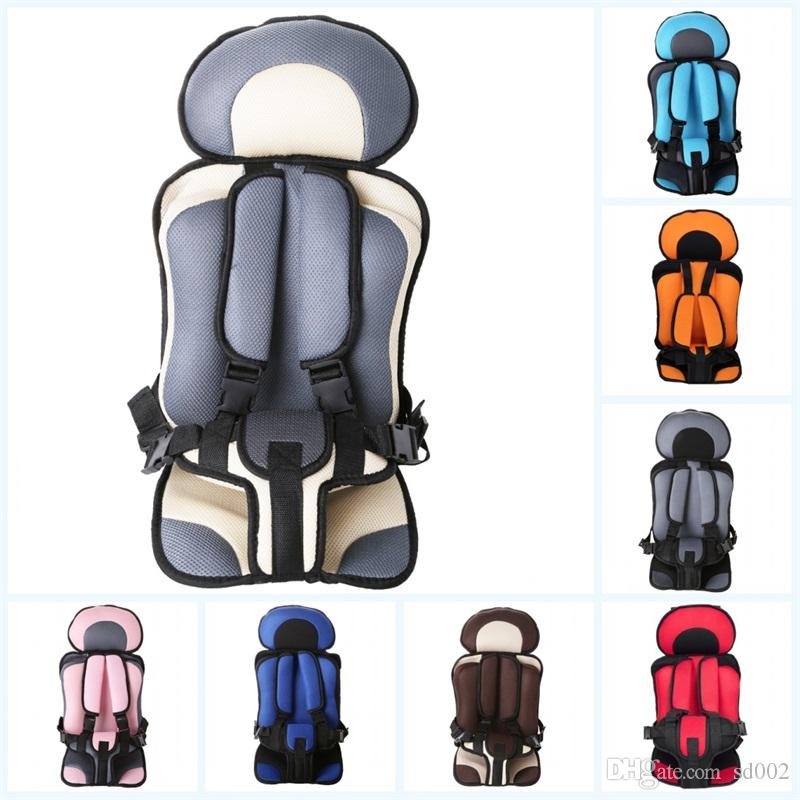 Trumpet Portable Baby Car Seat With Mix Color Protect Child Seats