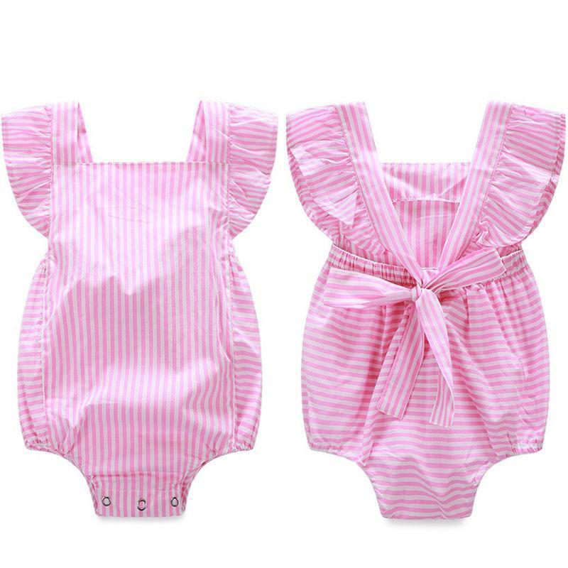 3f3fd8ba3 2019 Pink Princess Toddler Infant Newborn Baby Girl Clothes Romper ...