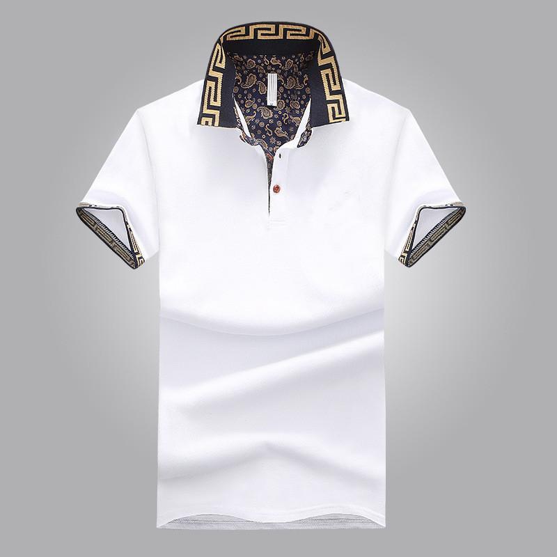 2018 New Cotton Blend Short-sleeved Breathable Summer Fashion Men s ... fd751687e737