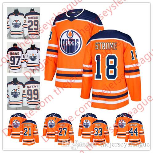 d1bba08dd Edmonton Oilers 2018 Hot Sale  18 Ryan Strome 20 Ryan Stanton 25 ...