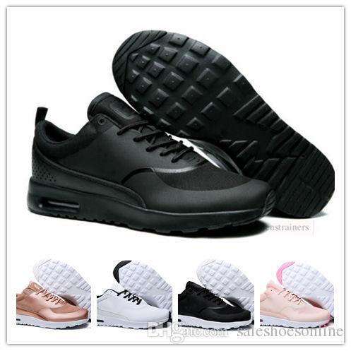 3c37cf6ae1c Acheter Nouveau Mode 87 90 Or Rouge Argent Chaussures De Sport Hommes  Femmes Thea 87 Designer Sneakers Chaussures Homme Airs Chaussure 36 45 De   60.92 Du ...
