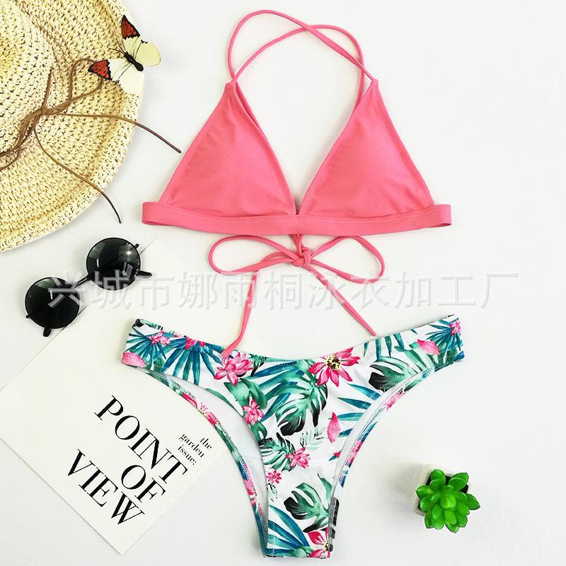 e23079a45c1 2019 2018 Time Limited European And American Style Swimwear Comfortable  Fabric Low Waist High Elastic Sexy Bikini Swimsuit From Goddess wardrobe