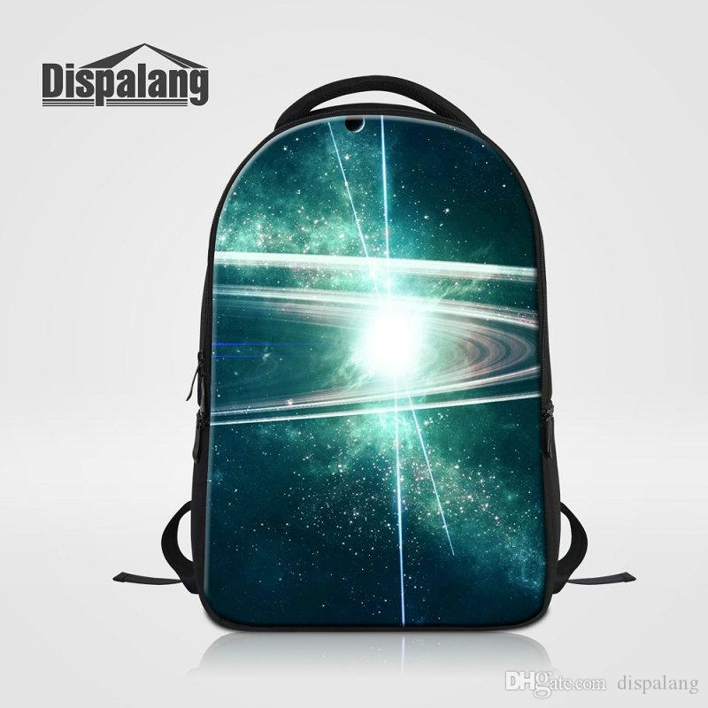 High Quality Laptop Backpack For 14 Inch Notebook Teens Fashion ComputGalaxy Design School Backpack Large Capacity Rucksack For Teenage Boys