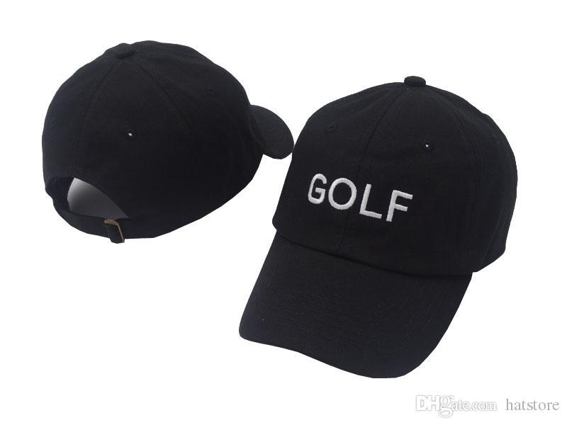 Cheap High Quality New Rare Exclusive Golf Cap New Cherry Bomb Embroidered Hat  Baseball Cap Half Curved Street Golf Wang Cheap Snapback Hats Hats Online  ... 485e2c01e79b