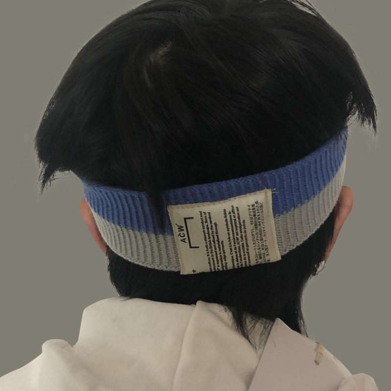 Compre 18FW A COLD WALL   ACW Hairband Bebé Hombres Mujeres Diadema De  Punto Hermosa Diadema Decoración Invierno Headwrap Moda Banda De Pelo  HFYMTD001 A ... f7f65d21546