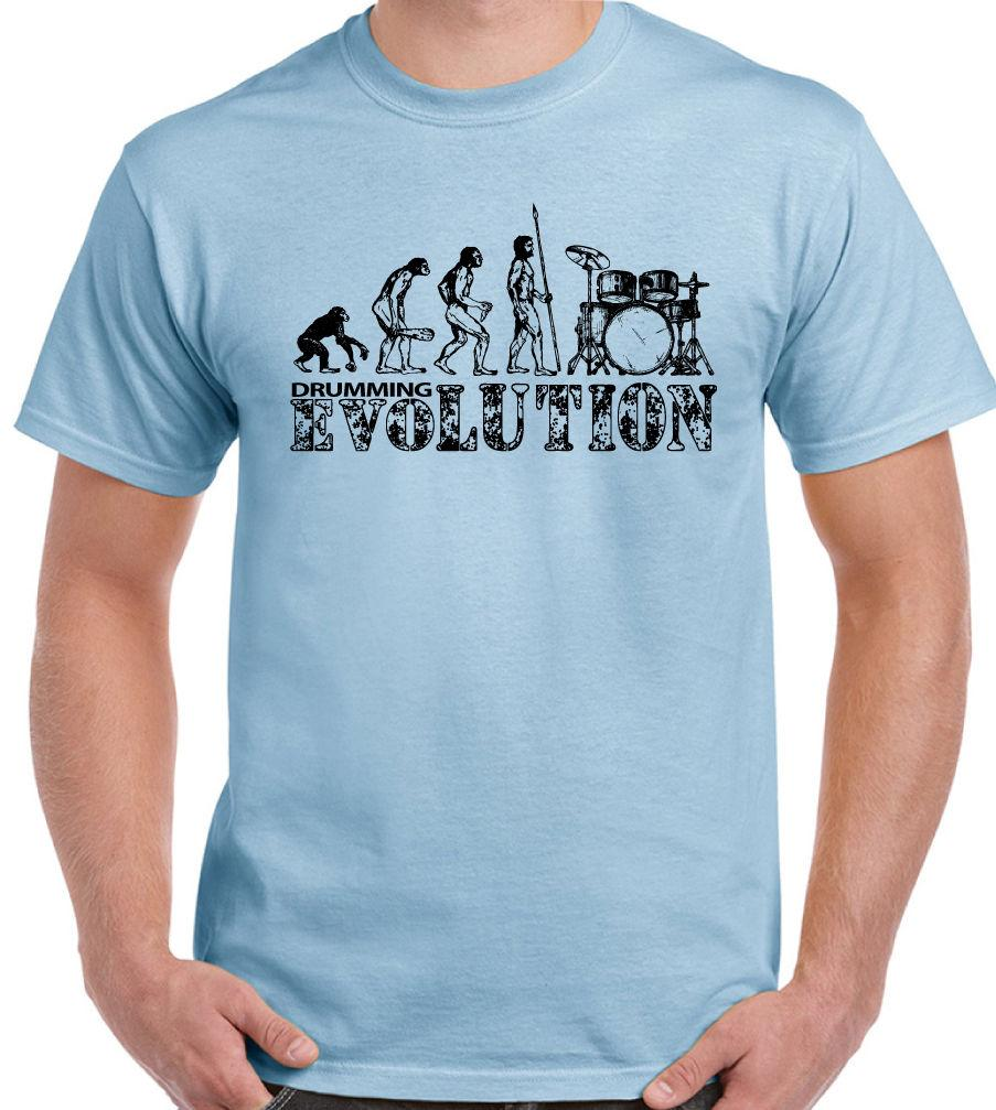 392790e2e Drum Evolution Mens Funny Drumming T Shirt Drums Cymbals Kit Sticks Drummer  Humorous Tee Shirts Design And Order T Shirts From Firstchoicemedia, ...