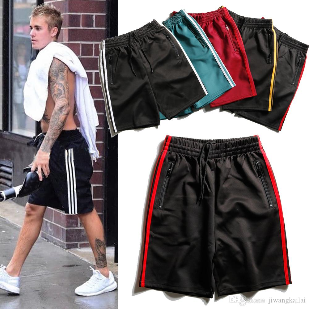 d81a2c868d1a 2019 2018 Cheap Stars Black Basketball Shorts Quick Dry Breathable Training  Basket Ball Jersey Sport Running Shorts Men Sportswear From Jiwangkailai