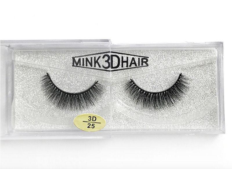 12 styles /pair 100% Real Siberian 3D Mink Full Strip False Eyelash Long Individual Eyelashes Mink Lashes Extension DHL