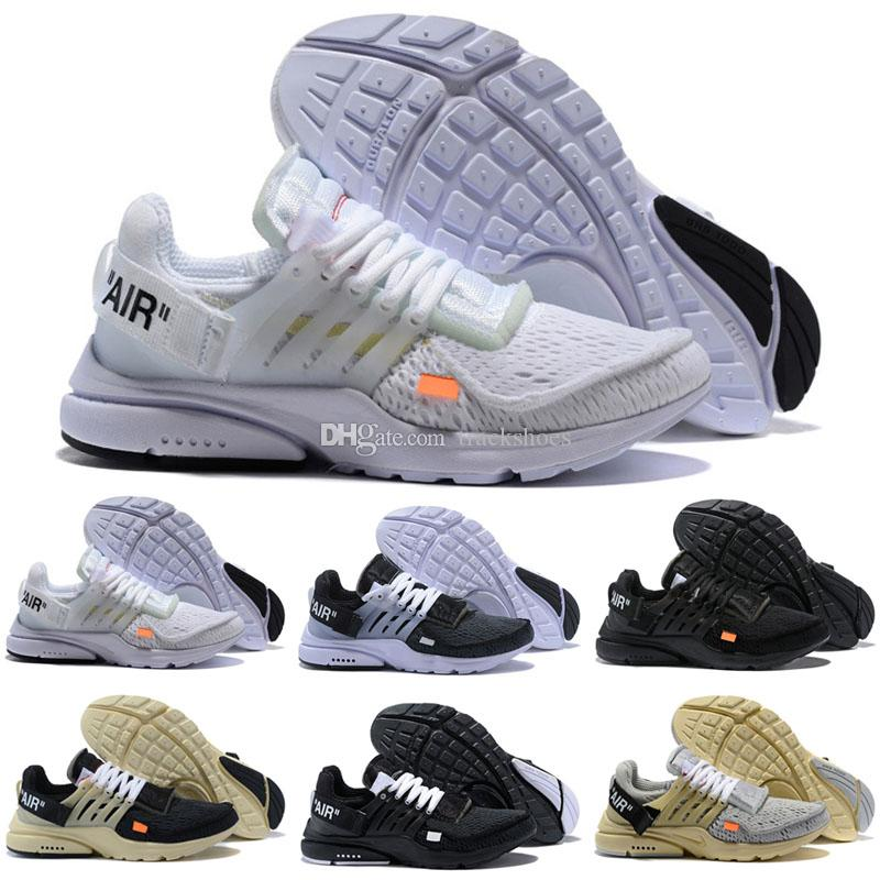 cheap for discount 755fd f544c Presto 2 oreo grey white black outdoor athletic shoes For men women fashion  sneaker sock dart running jogging off trainer shoe 36-45