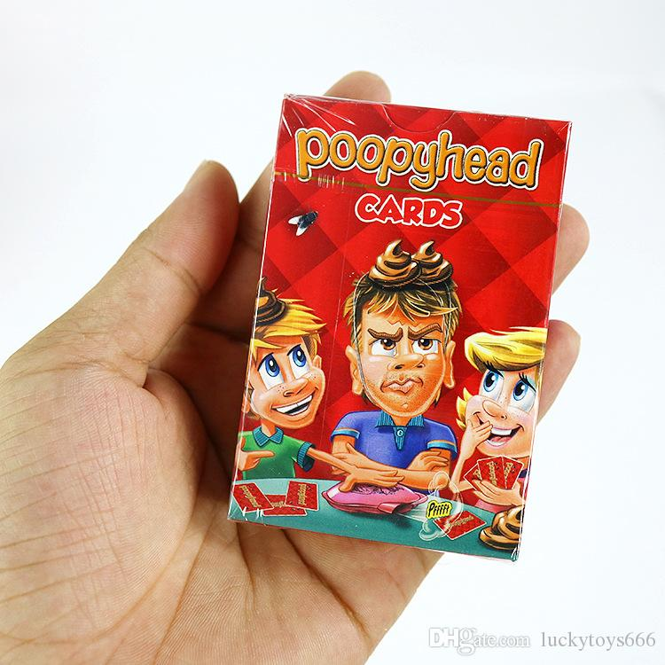 Poopyhead Card Games The Game Where Number 2 Always Wins Family Party Fun Board Games Tricky Toys 180117