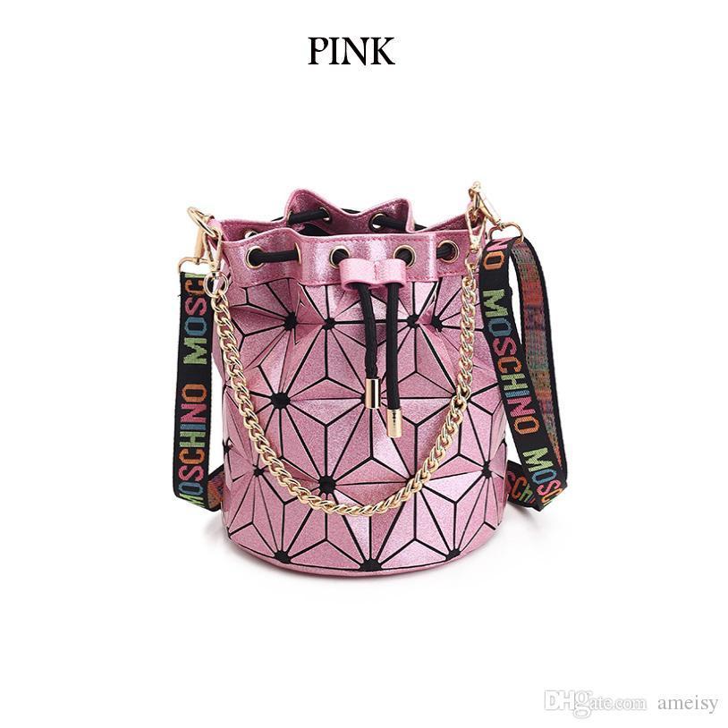 448dc5c2b500 2019 Hot Sale Famous Brand Designer Handbags Bag High Quality Geometric  Handbags Plaid Chain Shoulder Crossbody Bags Laser BaoBao Diamond Bag From  ...