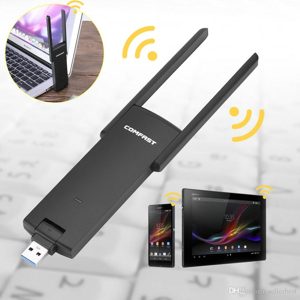 COMFAST CF-926AC 2.4G/5.8 GHz Dual Band AC 1200M Mini Wireless WIFI USB3.0 Adapter 802.11acbgn adaptor Gigabit WiFi Adapter