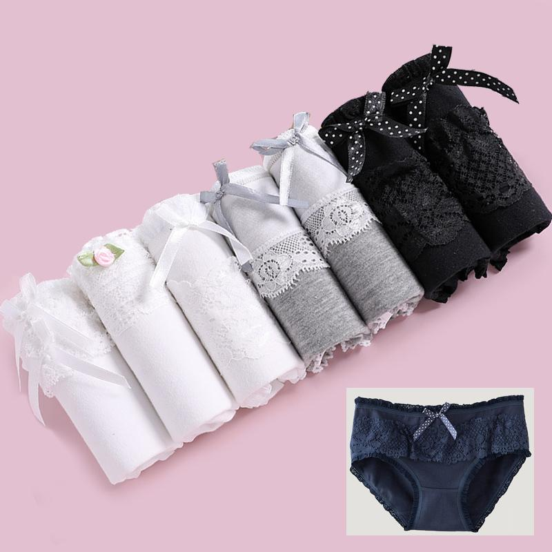 e09a801f4cc 2019 Panties Women Underwear Sexy Panties Girls Cotton Briefs Lingeries  Cueca Calcinhas Lace Shorts Underpants Panty Ladies From Hongxuanstore01