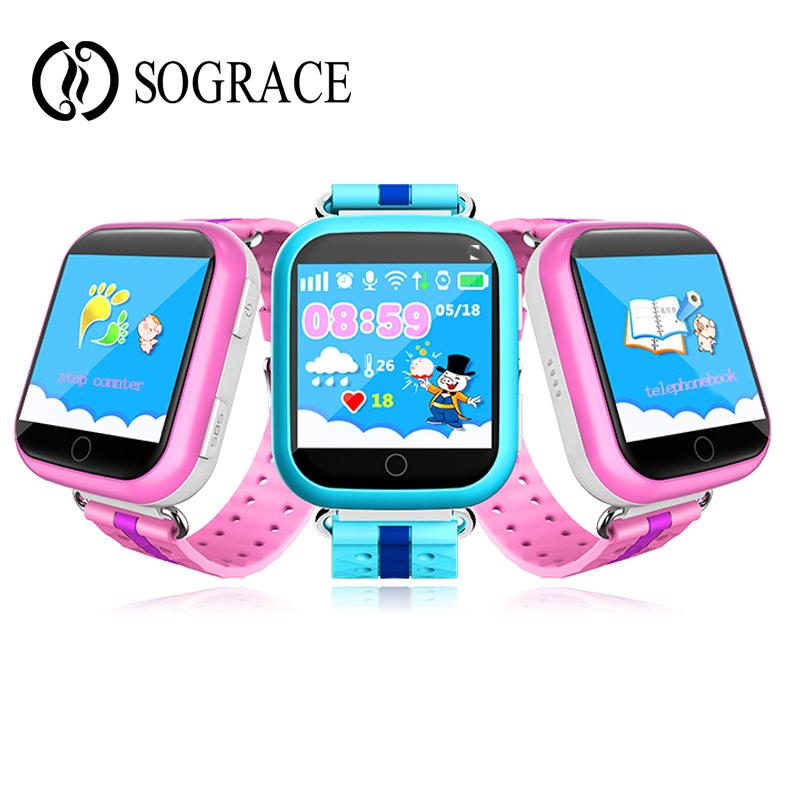 Smart Watch GPS Q750 Q100 Baby Smart Watch SOS Call Location Device Tracker 1.54inch Touch Screen for Kid's Safe PK Q50 Q90 Q80