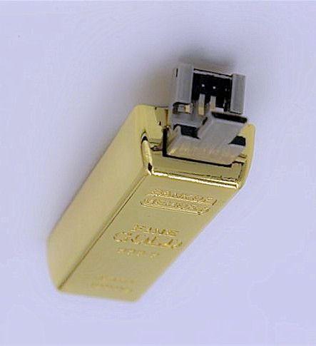 Gold bar OTG 16GB 32GB 64GB 128GB USB Flash Drive in metal Pen OTG Drive USB Memory Stick Pendrive thumb drive