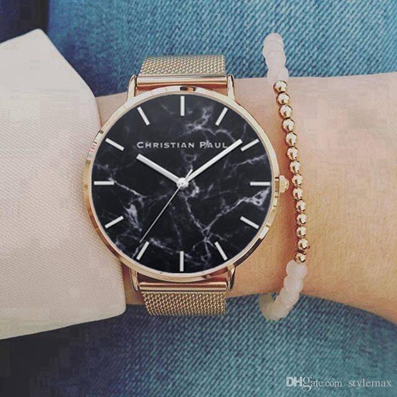 64ba8363c0ea Compre Hombres De Lujo Relojes Marca Banda De Acero Inoxidable Mvmt Mujeres  Reloj Dial Vestido Casual Reloj De Pulsera De Negocios Regalo Para Hombre  ...