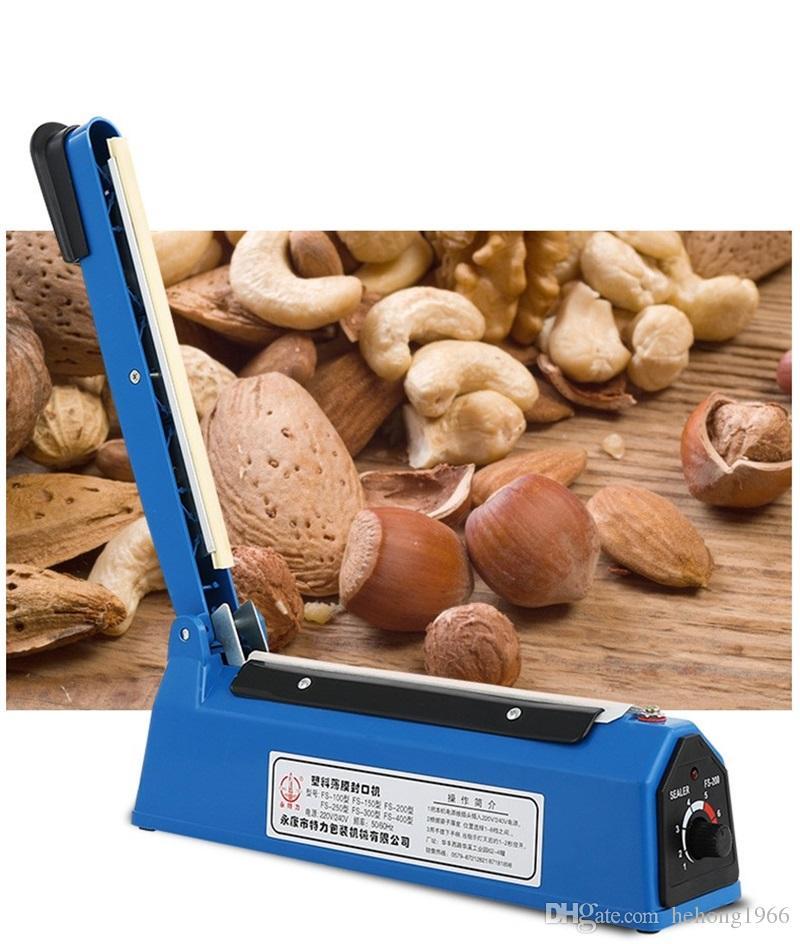 Handdruckverschließer-Plastikfilm-Schließmaschine-Schrumpffolie-freies Element-Impuls-langlebiges Gut einfach, Möbel-Zusätze 35xl H1 zu tragen