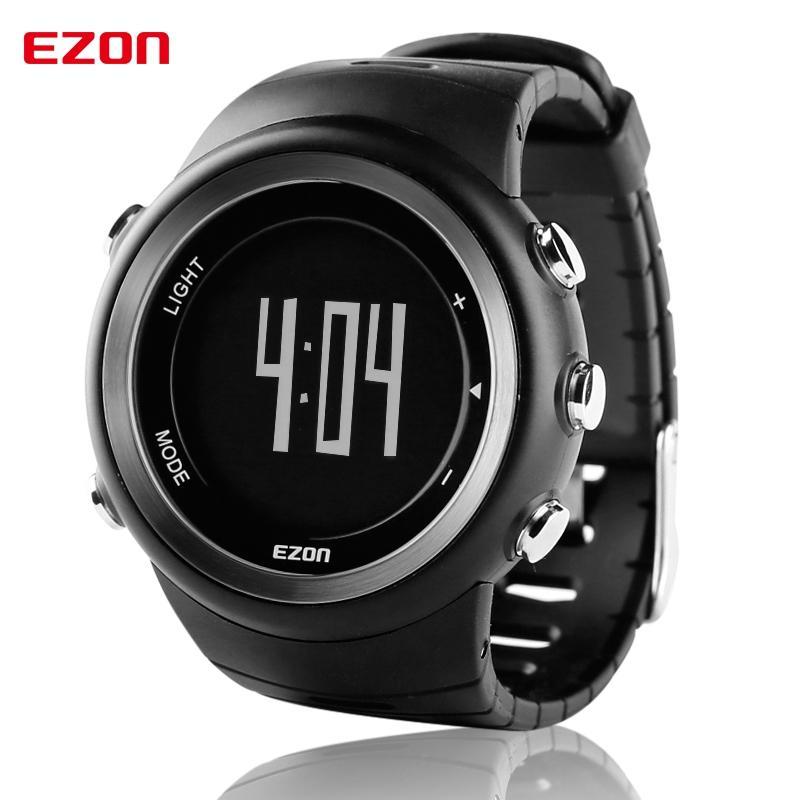 3189db433c76 Compre EZON Hombres Reloj Deportivo Podómetro Calor Monitor ...